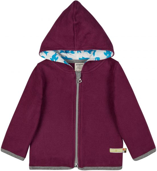 Jacke Fleece - Plum Orka