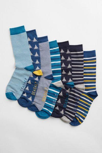 Men's Box O' Socks - Shipshape Mix