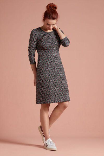 Mona Dress Pastille - Black