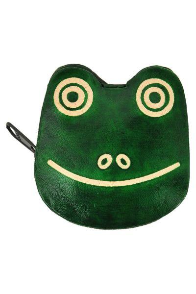 Ledergeldbörse - Frosch