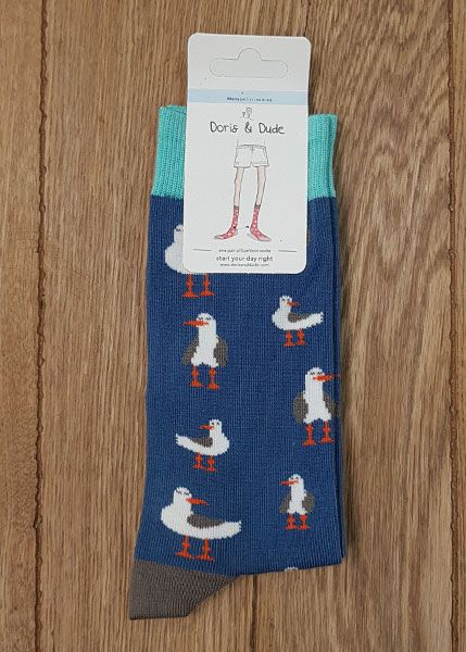 Socks Blue Seagull Men