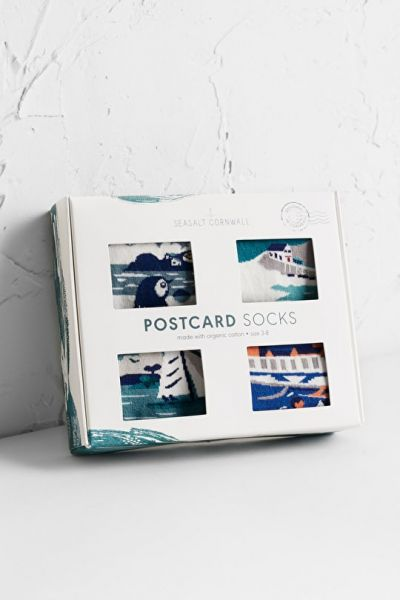 Men´s Postcard Socks Box