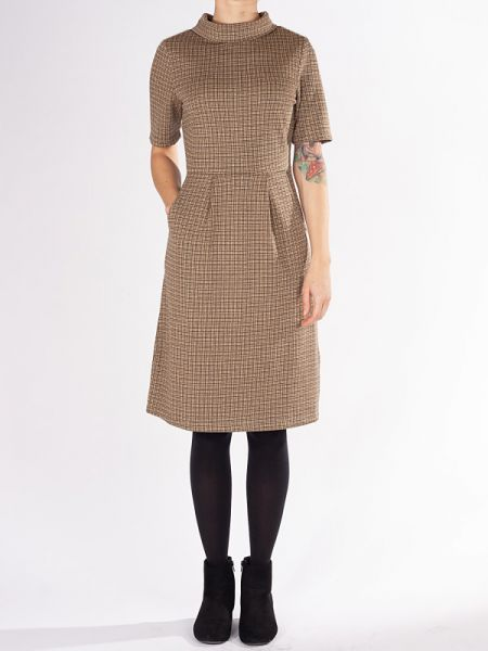 Baby I Got It - Dress - Hip To Be Square Brown