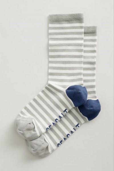 Women's Sailor Socks - Weatherboard Zinc