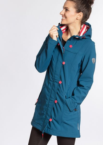 wild weather long anorak - anchor ahoi