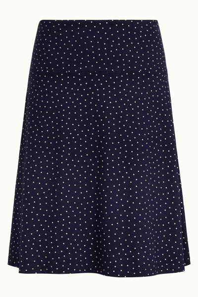 Border Skirt Little Dots - Nuit Blue