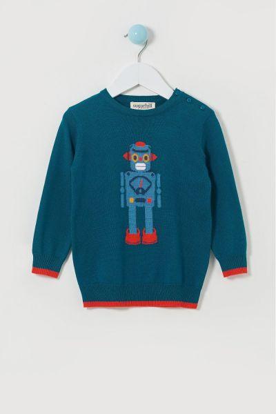 Nico Mini Me Robo Pop Sweater