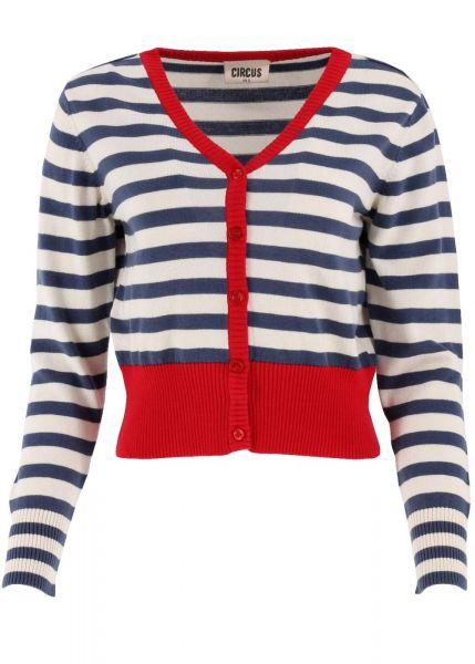 Cardy Stripe-navy