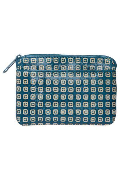 Geldbörse - Muster blau