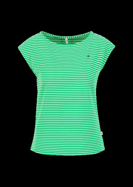 logo stripe top - green tiny stripe