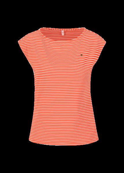 logo stripe top - red tiny stripe