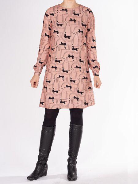 Art Lover - Dress - Panther Vintage Pink