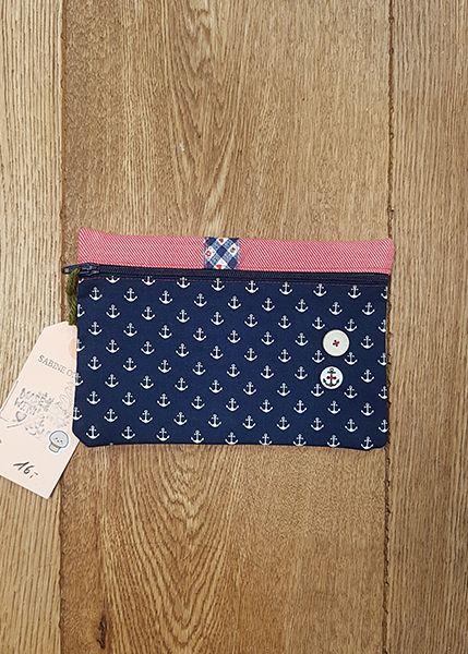 M39 Tasche klein Handarbeit Anker 010510