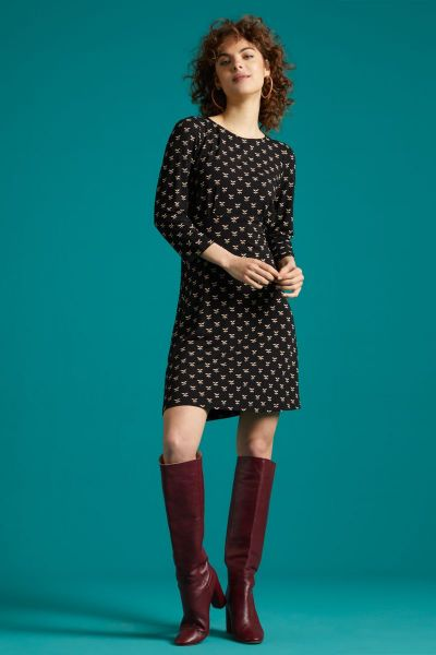 Duffy Dress Willow - Black