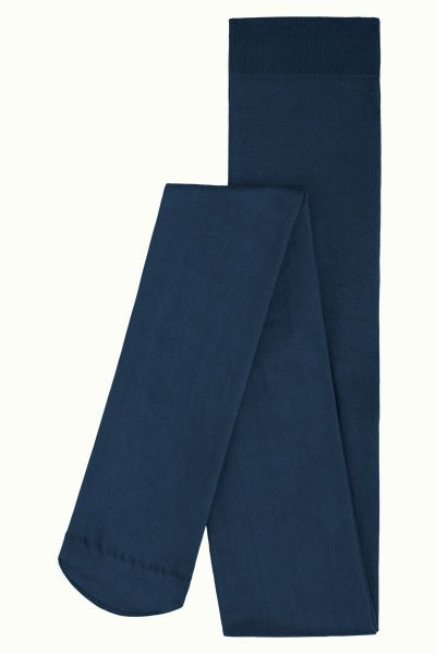 Tights Solid - Tokyo Blue