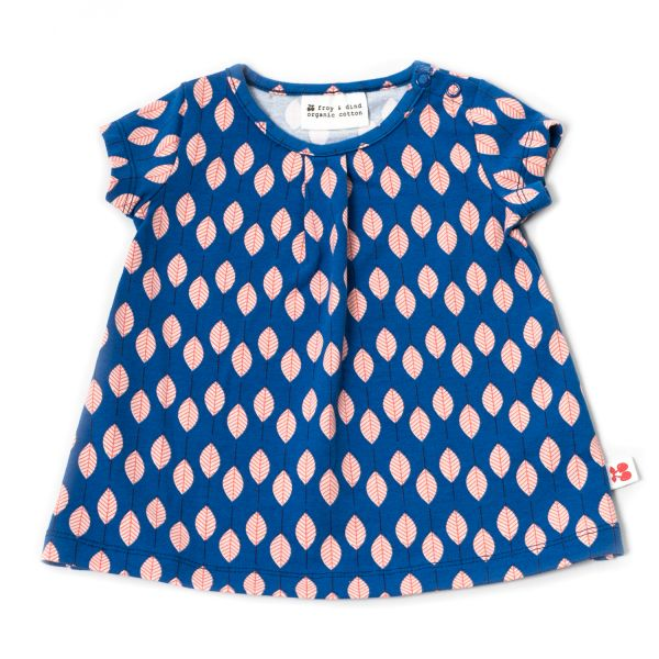Kleid Rosetta - Blatt