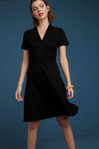Emmy Dress Ecovero Classic - Black