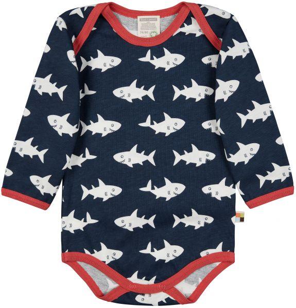 Body langarm - Ultramarin Hai