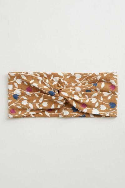 Flower Harvest Headband - Torn Tulip Claystone