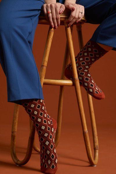 Socks 2-Pack Deuce - Spicy Brown