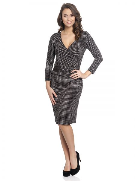 VM Diamonds Wrapdress black