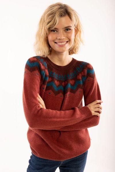 Anne Sweater - Rose Tile