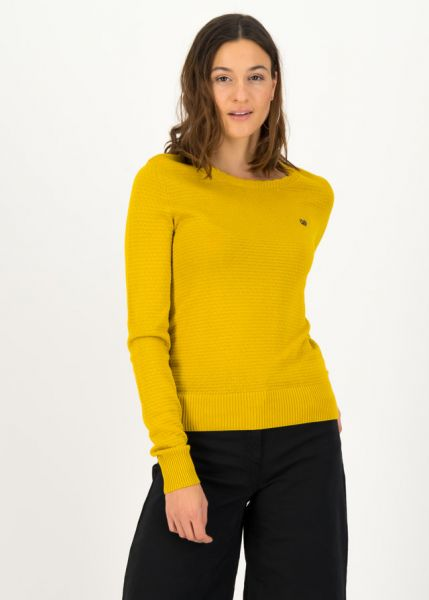 chic mystique pully - suited in yellow