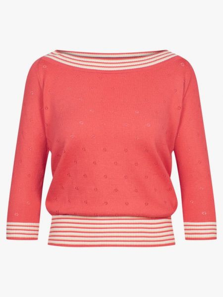 Chilly Evening - Knit Top - Uni Peach