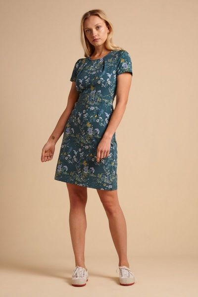 Mona Dress Griffin - Dragonfly Green