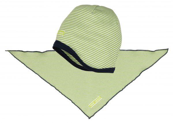 Mütze+Tuch - Moos