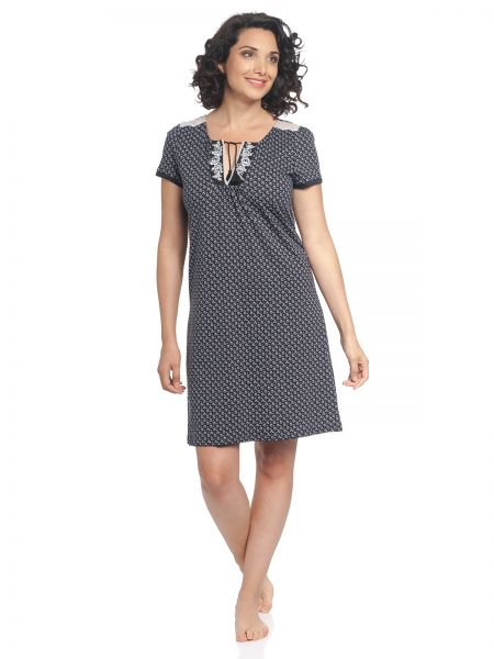 VM Boheme Dorée Nightdress blue allover