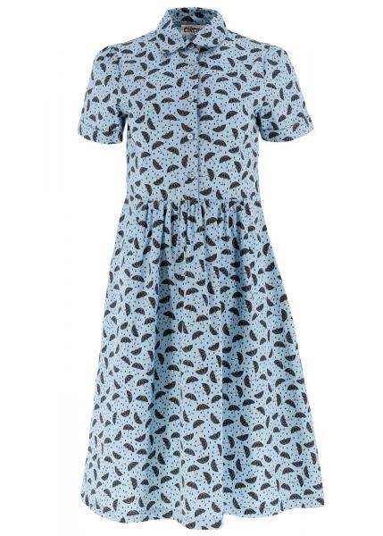 Kleid Umbrella-blue