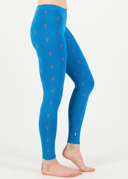 sommerlaune legs - blue tippi dots