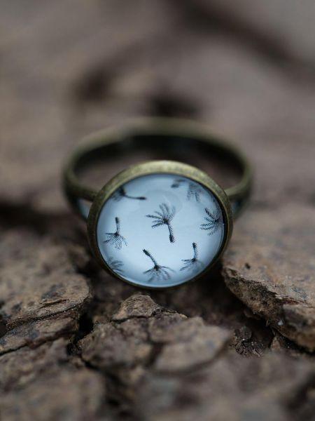 Ring bronze - Pusteblumenpollen 146