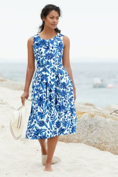 Seamstress Dress Watercolour Floral Cargo