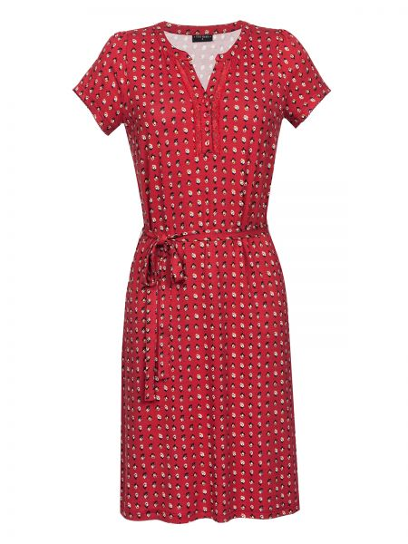 Fleur Rouge Dress red allover