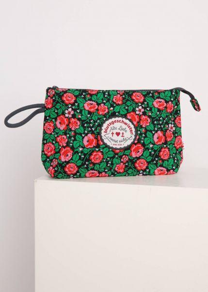 sweethearts washbag - floral potpourri