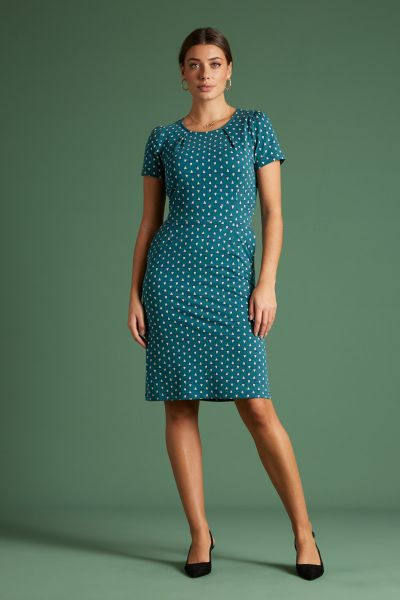 Mona Dress The Pond - Lapis Blue