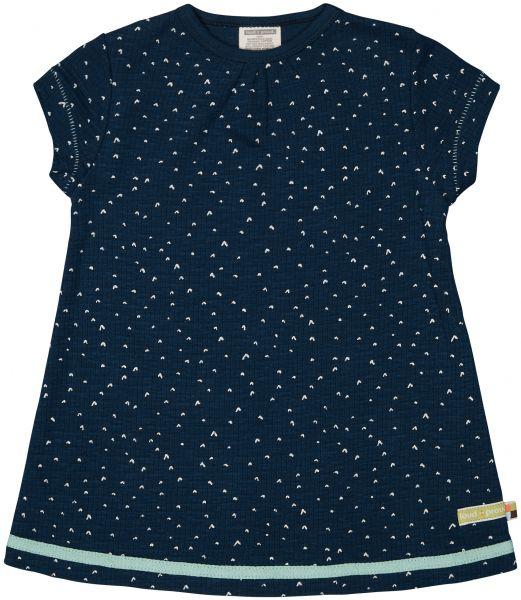 Kleid Waffel - Ultramarin