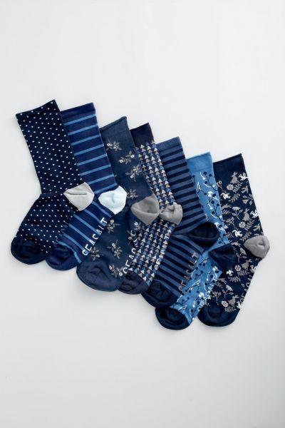 Women's Blueprint Box O'Socks - Prisk Cove Mix