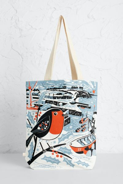 Canvas Shopper Charlestown Robin