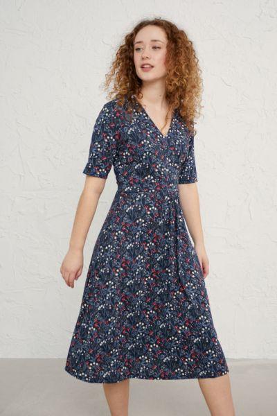 Quinn Dress Winifred's Border Waterline