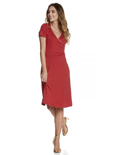 Monaco Dress Red/Allover