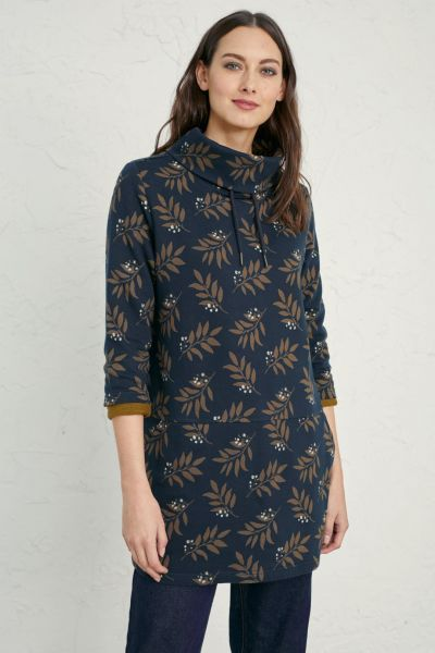 Gwenver Sweatshirt Tree Leaf Raven