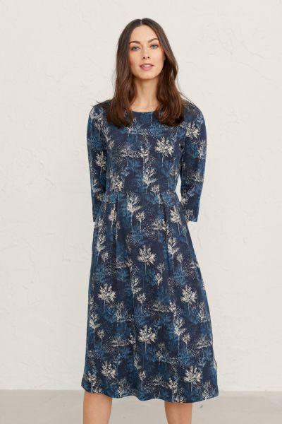 Kay Dress Dappled Trees Maritime