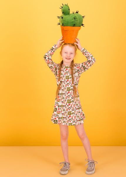 girl scout dress - my garden