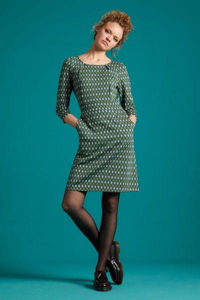 Mona Dress Deuce - Pine Green
