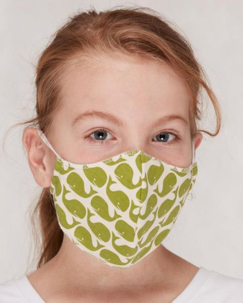 Mund- und Nasenmasken für Kinder - Wal