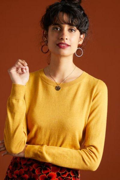 Agnes Top Cocoon - Honey Yellow