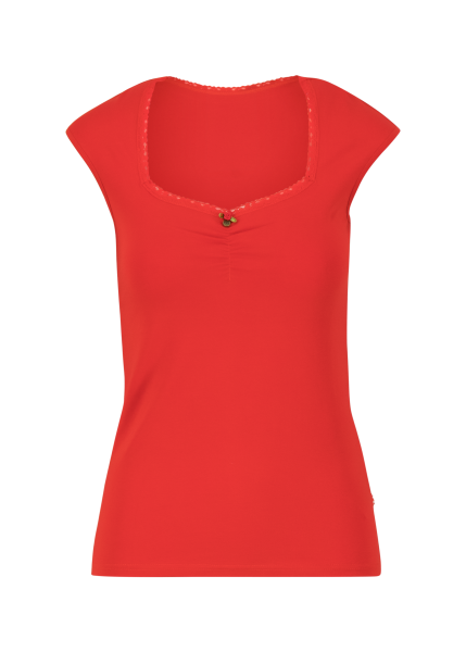 logo top romance - strong red